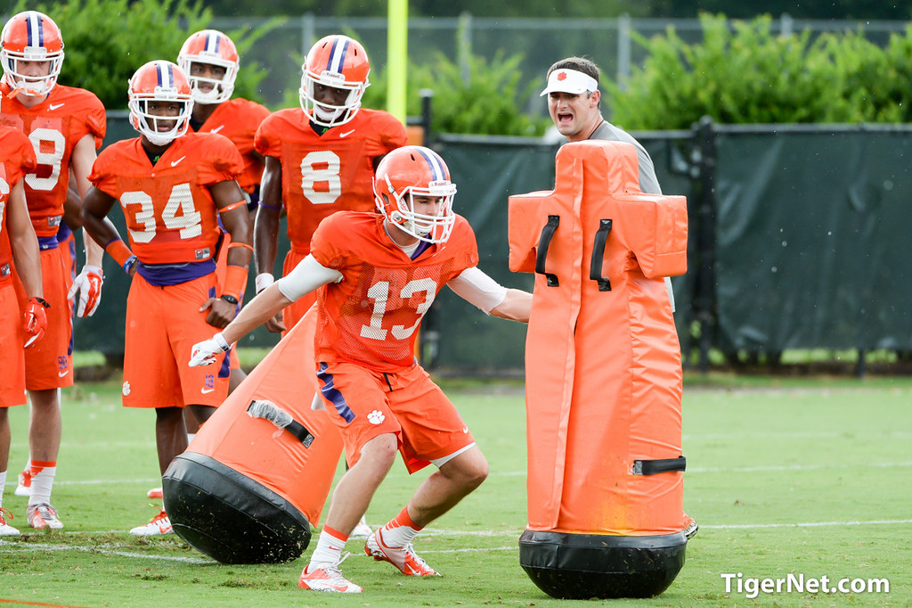 Swinney says renfrow will help tigers win this year hunter renfrow
