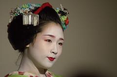 Meiko closer look Kyoto (CapoVincent) Tags: trip travel travelling tourism japan kyoto august geiko geisha kioto pontocho meiko 2015