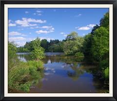 Cranbrook Lake (InnAtElmwood) Tags: cranbrook lake innatelmwood kingswood michigan bloomfieldhills geotagged flickrgeotaggers