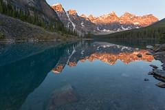 Moraine Morning ... Color (Ken Krach Photography) Tags: lakemoraine banffnationalpark