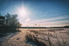 Helsinki,Finland : Winter Edition (BigWhitePelican) Tags: helsinki finland vanhankaupunginlahti sunny sun winter ice snow canoneos70d adobelightroom6 niktools 2017 march