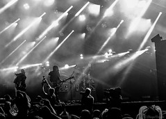 Tear the place up! (Voyen_Ras) Tags: concert music live blackwhite lighting stage life beams audience crowd festival show rock photography skunkannansie beautiful art create creativity muse