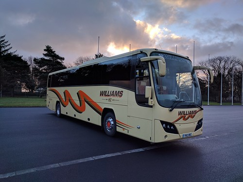 YN12 BRZ,  Iveco Eurorider of Williams Coaches,  Brecon