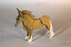 Fumiaki Kawahata - Pony (IverRu) Tags: iver kawahata pony origami пони оригами животные animal
