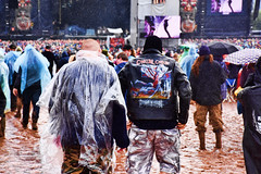The gathering (mikegmt77) Tags: concert donington iron maiden download june mud people faces rain nightwish