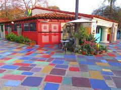 studio 33... (mar-itz) Tags: balboapark sandiego california art studio artist color village maritza bright plant flower sunset spanishvillage colorful