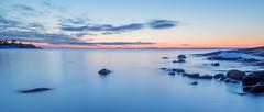 Porkkalanniemi, Porkkala, Finland (tatianahelin) Tags: wintersunset finland balticsea stones seashore