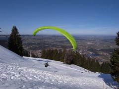 RU_201703_Mittag_007 (boleroplus) Tags: decollage horizontal montagnes neige parapente paysage randonnee sommet immenstadt bayern allemagne de