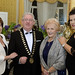 Rosie and Joe Dolan, IHF President with President's Award Winner Anna May McHugh and her daughter Anna Marie McHugh