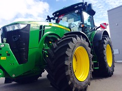 Trelleborg extra large tires and John Deere (TrelleborgAgri) Tags: trelleborg tires krone