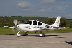 N799CD Cirrus SR22 GTS (eigjb) Tags: ireland light plane airplane airport general aircraft aviation may spotting cirrus airfield aerodrome gts kildare sr22 kilrush 2013 eikh 190513 n799cd