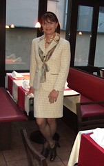 Cafe DaVinci (Marie-Christine.TV) Tags: beauty lady erfurt feminine cd femme tgirl wig transvestite secretary frau crossdresser businesssuit feminin kostm schn mariechristine skirtsuit sekretrin tgurl femmeside