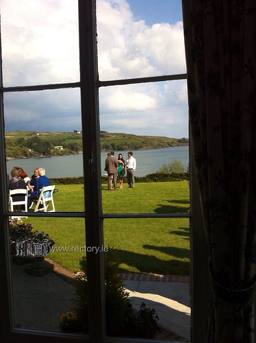 Relaxing at the Rectory in Glandore, West Cork