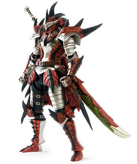 千值鍊 - 魔物獵人4 COMPLETE SET:雄火龍裝男剣士