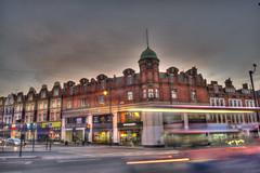 HDR London Brixton (henry clayton) Tags: uk sunset england london clayton henry hdr highdynamicrange brixton lambeth d800 windrushsquare ninjaprints