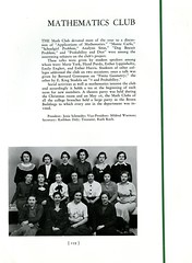 Mathematics Club (Hunter College Archives) Tags: students club 1936 photography yearbook clubs mathematics hunter activities huntercollege studentorganizations organizations studentactivities mathematicsclub studentclubs wistarion studentlifestyles thewistarion