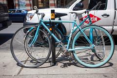 Blue Fuji Fixie (Voluntary Amputation) Tags: urban boston ma graffiti bikes bostonist