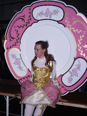 plates (Asylum Models & Effects) Tags: show beauty costume europe live lumiere chip beast plates cogsworth mrspotts