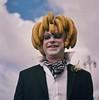 Banana Skinhead (Alex Bamford) Tags: gay portraits brighton pride parade madeiradrive minoltaautocord fujicolorpro160s colourstream alexbamford chrismawer wwwalexbamfordcom alexbamfordcom christophermawer