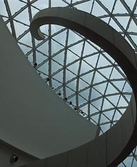 Dali Stairs II (Barefoot In Florida) Tags: windows art stairs stpetersburg florida surrealism salvadordali windstairs