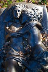 Forever (elrina753) Tags: nyc newyorkcity cemeteries usa newyork unitedstates bronx tombs woodlawn nationalhistoriclandmark woodlawncemetery woodlawnheights