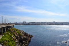 (L'Brithna) Tags: sea summer sun beach water mar agua corua ciudad playa paseo galicia verano martimo