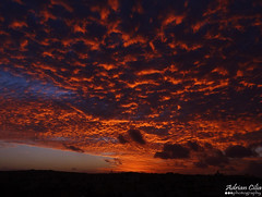 Malta --- Zebbug --- Sunset ((EXPLORED)) (Drinu C) Tags: autumn sunset orange clouds fire sony ngc malta dsc zebbug explored blinkagain hx100v adrianciliaphotography