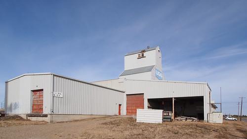Wetaskiwin Alberta Grain Elevator