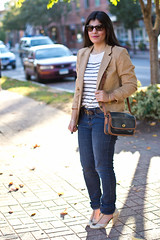 anchored in fall.jpg (LyddieGal) Tags: white fall sunglasses fashion vintage outfit coach stripes style jeans camel anchor denim seychelles wardrobe sequins thrifted
