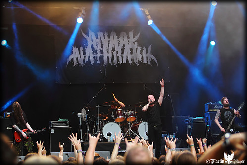 ANAAL NATHRAKH at METALDAYS 2013 Tolmin