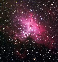 m16  nebuleuse de l'aigle newton 300mm (Jo 0405) Tags: lightpainting lune soleil hiver astro telescope galaxies messier iss toiles milkyway observatoire canigou astronomie voielacte clipse chiran astrophotographie merdenuages amas nbuleuses venuse 1000d montchiran