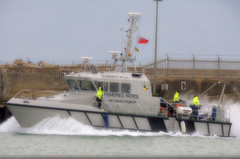 Keeping a right Royal eye (crusader752) Tags: port harbour vessel protection shoreham watchful ifca fiseries hrhthedukeofgloucester inshorefisheriesconservationauthority