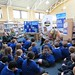 Emma Heatherington at The Holywood Arches Library reading The Magician's Nephew