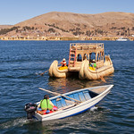 Girl power on Lake Titicaca, Peru thumbnail