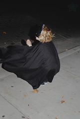 333 of 365 - On Patrol ([ the black star ]) Tags: street boy playing motion kid toddler mask flash things kingston stuff batman cape adventures festivaloflights shrug streetfair preschooler somethinglikethat thedarkknight 333365 theblackstar threehundredthirtythree