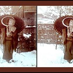 A GIRL IN THE SNOW -- Digitally Transposed for Parallel Viewing thumbnail