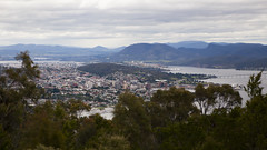 Truganini Track - View of Hobart