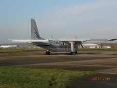 G-CZNE BN2 (Aircaft @ Gloucestershire Airport By James) Tags: james airport gloucestershire lloyds bn2 egbj gczne