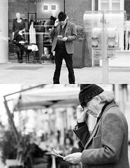 [La Mia Citt] Gratta e Vince(?) (Urca) Tags: portrait blackandwhite bw italia milano bn biancoenero 2013 dittico grattaevinci 59827 ritrattostradale nikondigitalefilippetta