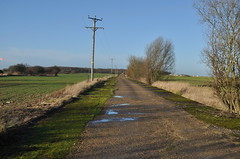 RAF Deenethorpe, Southern Taxiway, looking West (SteveSmith83) Tags: abandoned b17 northants raf airfield 8thaf deenethorpe