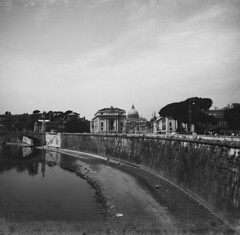 St. Peter's Church from Tiber River