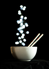 Happy Chinese New Year /  (Paula Fry) Tags: horse food happy bokeh flash bowl chinesenewyear celebration chopsticks noodles 31 offcamera yearofthehorse diffusedflash  bokehed 114in2014