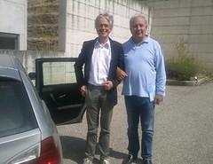 Visita del sociologo Derrick De Kerckhove a Futuridea