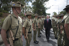 130205-N-PM781-001 (U.S. Pacific Fleet) Tags: marine australia canberra medalofhonor usmarinecorps secretaryofthenavy raymabus secnav dakotameyer