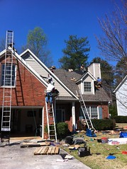 Roswell Roofing Job