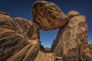 Balanced Rock in Grapevine Hills