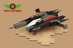 zH-96G Doomclaw (pasukaru76) Tags: lego space stg moc r5 starfighter canon100mm starfightertelephonegame teamponyexpress