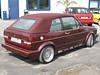 VW Golf I Cabrio (1979-94) Verdeck mit Regenrinnen