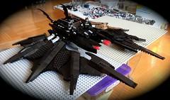 The Batwing - WIP #11 (Brickmasta) Tags: lego batman moc afol batwing legomovie thelegomovie