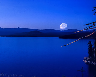 Liar's Moon Over Lake Tahoe